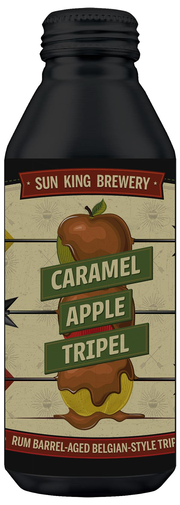 Caramel Apple Tripel Rum Barrel Aged Beligan Style Tripel