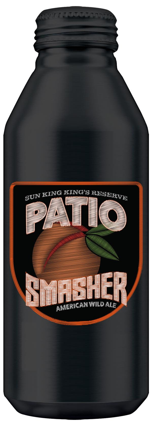 Patio Smasher Ale with Peaches
